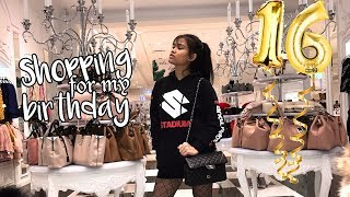 Shopping for my birthday | Sweet 16th Vlog