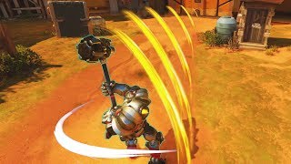 I've Never Seen a Fire Strike Like This Before... - Overwatch Funny Kills Montage