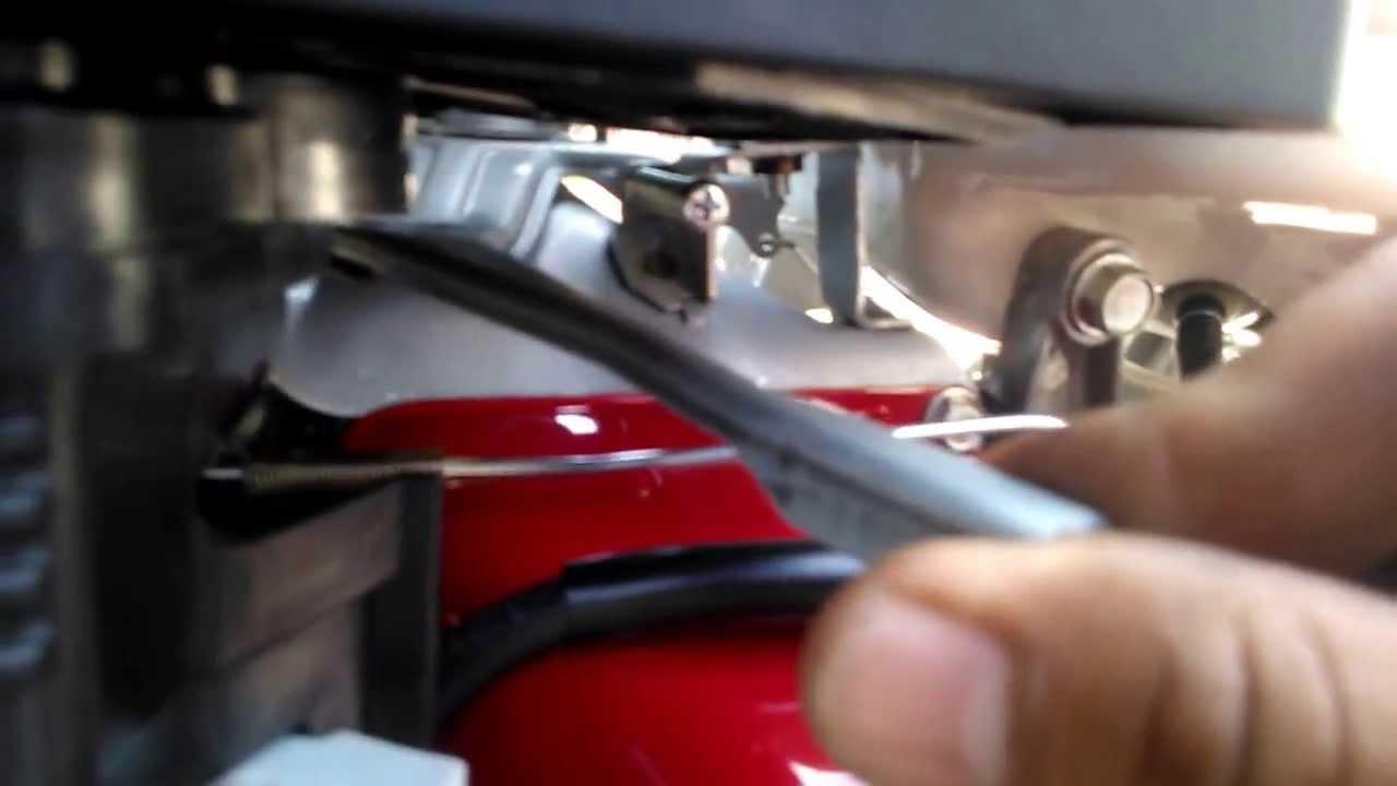 preparativos  encender el motor honda  hp de la hidrolavadora windstar youtube