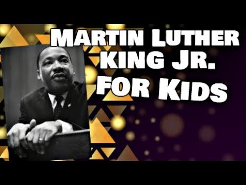 Martin Luther King Jr for Kids | Biography Video