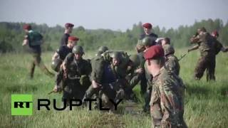 Russia: Recruits undergo grueling tests to enter elite National Guard of Russia
