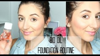 DEWY FOUNDATION ROUTINE | USING BIO OIL
