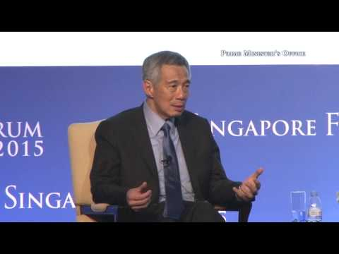 On impact of China-Japan-Korea relationship on Asia's economy (2015 Singapore Forum)