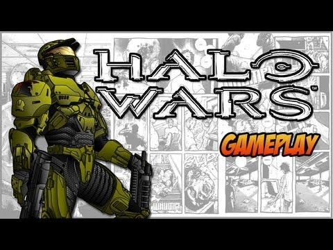 Halo Wars - Gameplay - Xbox360 PT-BR