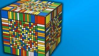 17x17x17 Solve  -  Time-lapse