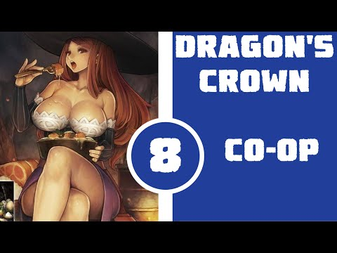 Let's Play Dragon's Crown Local Co-op Part 8 - Vagina-Posed Bitten Nun