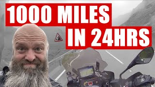 1000 Miles In 24 Hours Motorcycle Ride - RBLR1000 2018