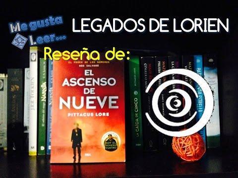 Reseña El Ascenso de Nueve (Saga Legados de Lorien)