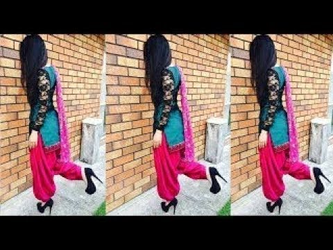 Latest Patiala Salwar Suit Designs || Beautiful Duppta Suit Designs || Boutique Suit Design 2018