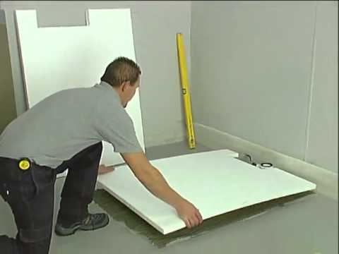 Valsir Design Sistema Doccia a filo pavimento – X-BORDER