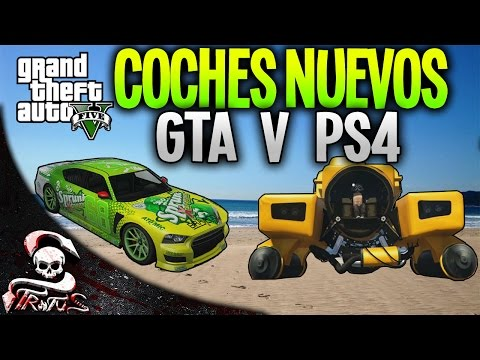GTA 5 ONLINE PS4   ENSEÑANDO LOS COCHES NUEVOS, AVION DODO, SUBMARINO KRAKEN   XxStratusXx
