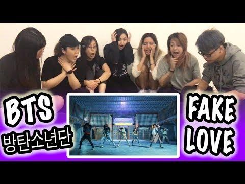 [KPOP REACTION] BTS 방탄소년단 -- FAKE LOVE