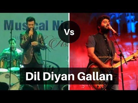 Download Lagu  Arijit Singh vs Atif Aslam Live - Dil Diyan Gallan Mp3 Free