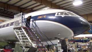Inside & Outside Tour of a Rare ex-Mexicana Comet 4C