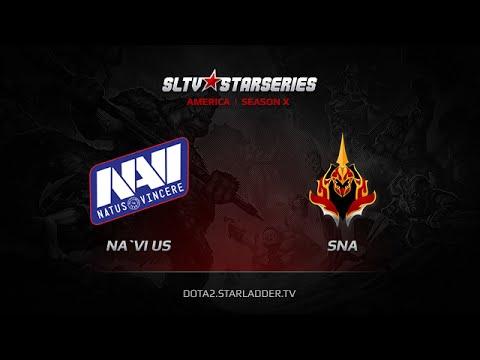 NaViUS vs Sneaky Nyx Assasins  SLTV America Season X Day 7 Game 4