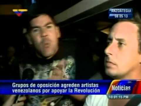 Roque Valero y Winston Vallenilla en VTV hablan del acoso en Lechería, estado Anzoátegui