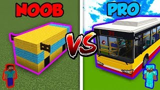 Minecraft NOOB vs. PRO: BUS in Minecraft!