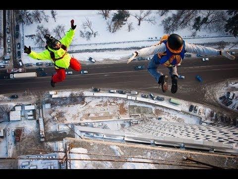 """Moscow Connection"" - Бейсджампинг (BASE Jumping) в Москве"