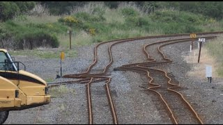 Incredible Earthquake devastation in Oaro near Kaikoura  New Zealand