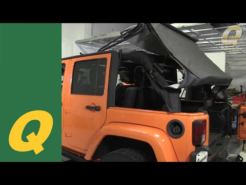 Quadratec Replacement Soft Top on Jeep Wrangler JKU 2010 and Up Install