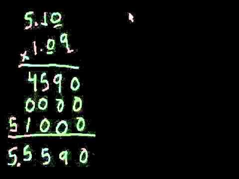 Khan Academy ไทย: Multiplication (8) การคูณจุดทศนิยม