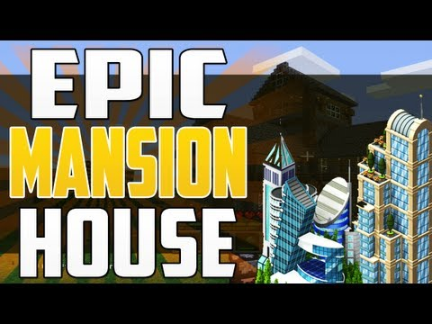Epic Minecraft Mansion House World Tour 2.0 XBOX 360