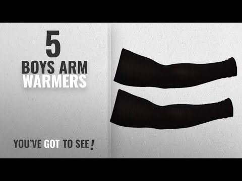 10 Best Boys Arm Warmers [2018 Best Sellers]: 1 Pair - Wearable Cotton Arm sleeves Skin Cover for