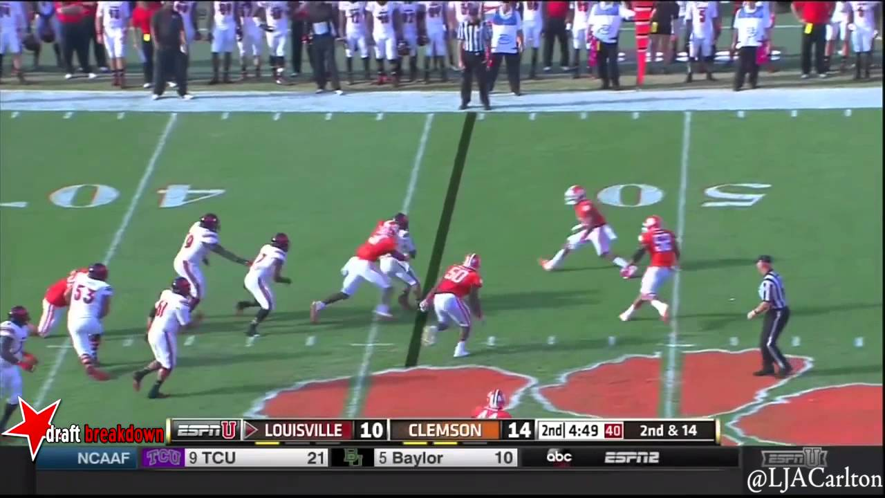 Garry Peters vs Louisville (2014)