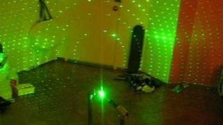 DIY How to make a green laser projector in 20 minutes!!!