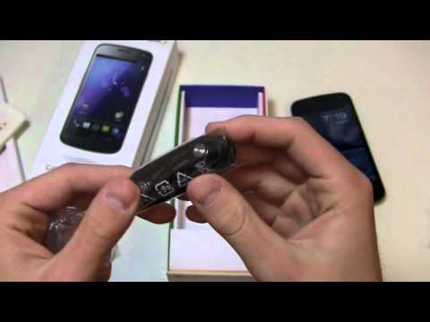 Sprint Samsung Galaxy Nexus Unboxing (2)