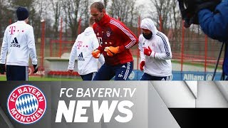 FC Bayern focused on decisive phase of the season