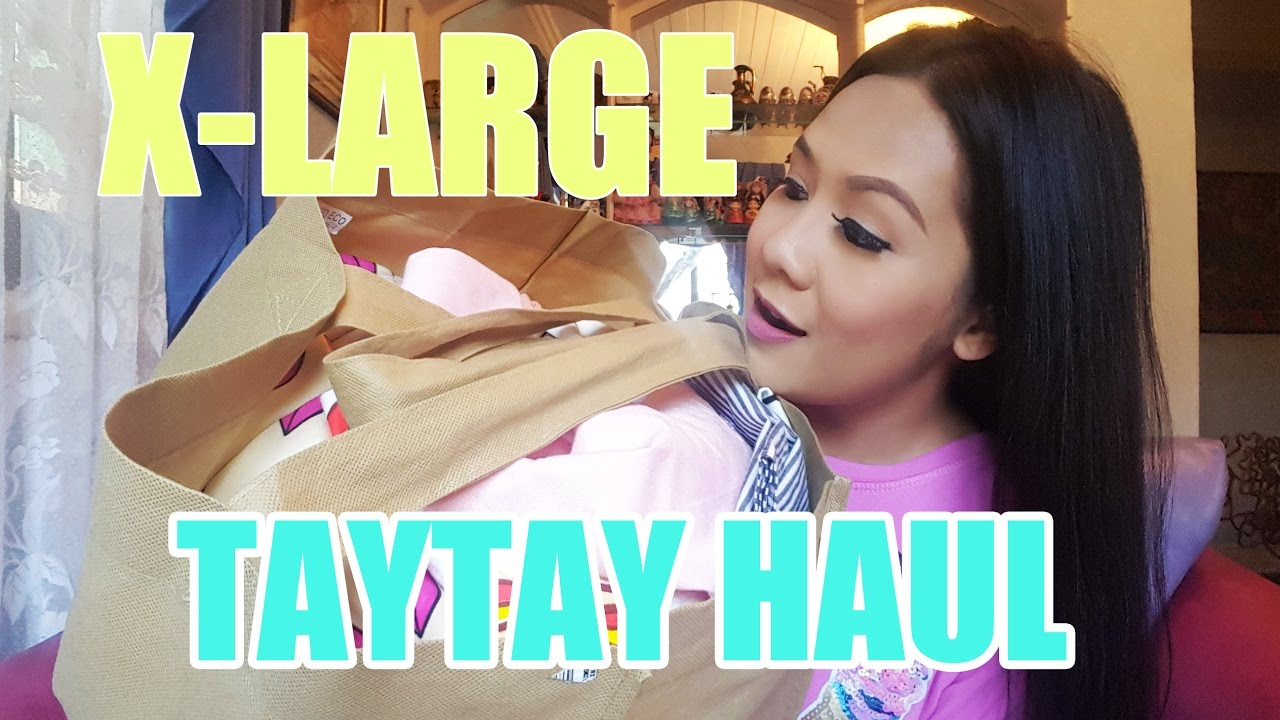 MALAKING TAYTAY HAUL under 2,000 Pesos   TAYTAY GIRL