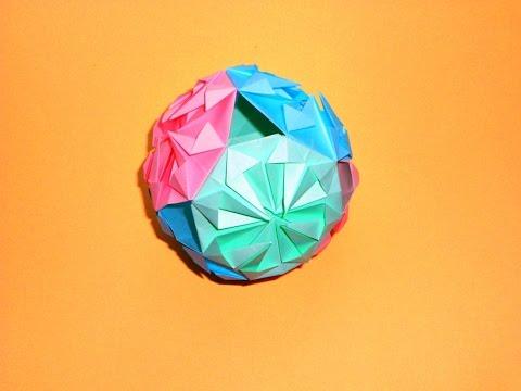 Как сделать шарик для воды из бумаги