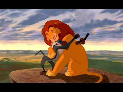 el rey leon- inicio de la pelicula