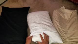 Gel Cooling vs Neck Support vs Shredded Memory Foam Pillows