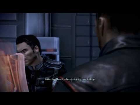 Mass Effect 3: Kaidan Gay Romance #15: Kaidan asking about Cerberus