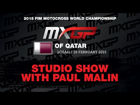 MXGP of Qatar Studio Show 2015 - Motocross