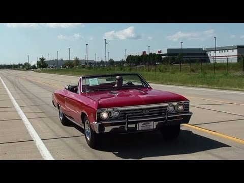 Test Driving 1967 Chevrolet Chevelle SS 396 Convertible - Fast Lane Classic Cars