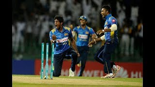 Sri Lanka vs England, 5th ODI: England Wickets