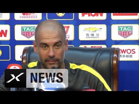Herr Guardiola, werden Sie Jose Mourinho die Hand geben | Manchester City - Manchester United