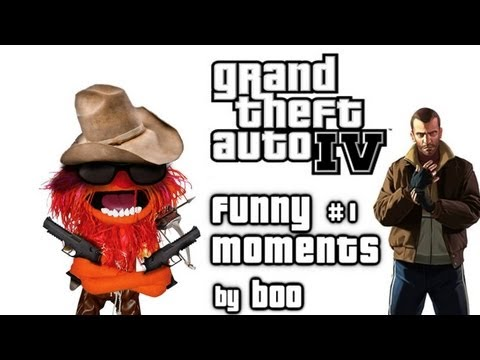 GTA IV Funny Moments - \