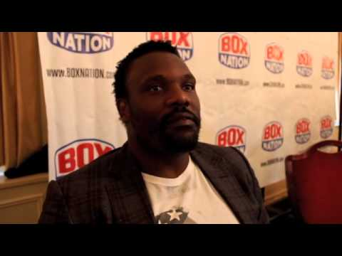 DERECK CHISORA - 'FURY'S ANTICS DONT IMPRESS ME, I KNOW WHY HE'S DONE IT, 15 BAGS IS ALOT OF MONIES'