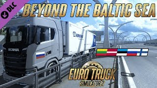 ? Nuevo DLC Beyond the Baltic Sea | Scania s730 | Euro Truck Simulator 2