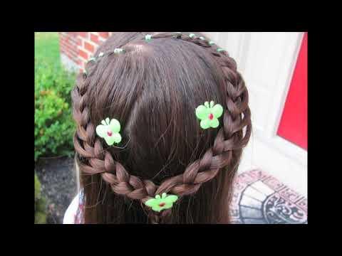 Peinados infantiles paso a paso -   trenzas, cintas y tocados para fiestas, novias