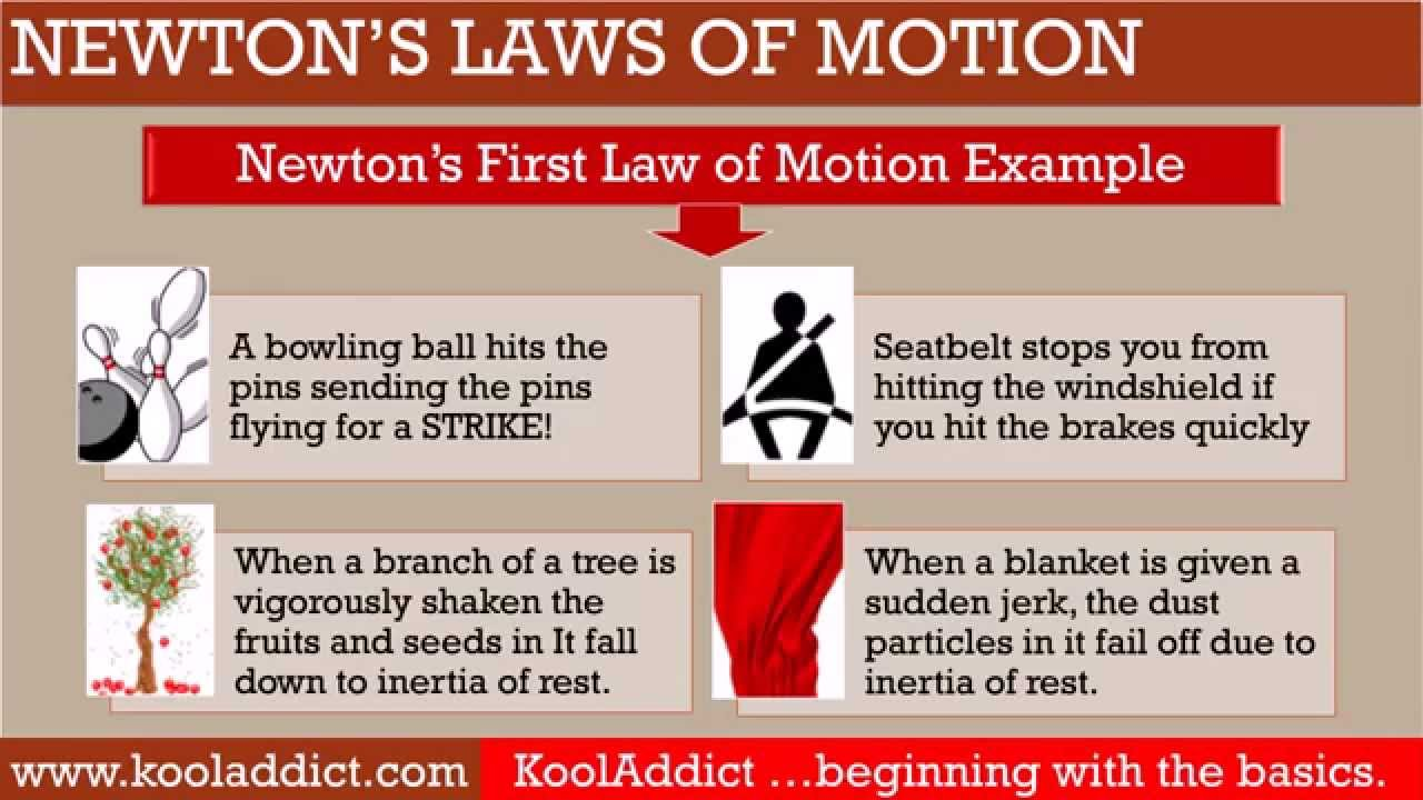 newton u0026 39 s laws of motion  basic points you should know  science