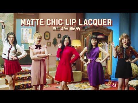 Red Velvet CF 💄 Etude House 👄 Matte Chic Lip Lacquer | 레드벨벳 에뛰드하우스