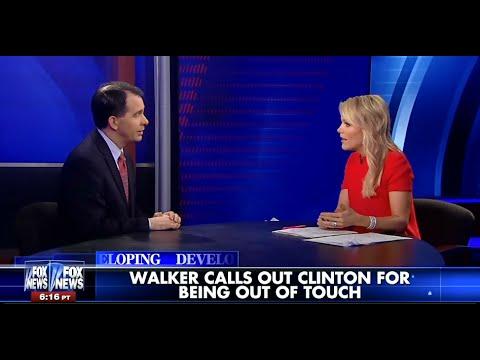• Gov. Scott Walker • Hillary Clinton is