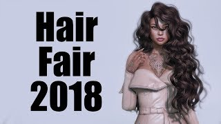 Hair Fair 2018 in Second Life