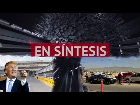 Familia vi?ctimas de carretera y extorsio?n, Donald Trump viene a Laredo; EN SI?NTESIS