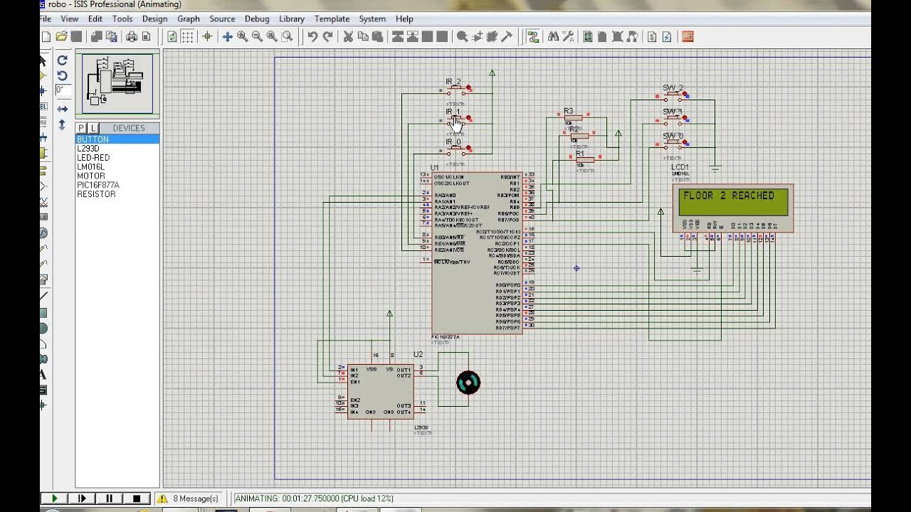 Elevator Control Using Pic Microcontroller
